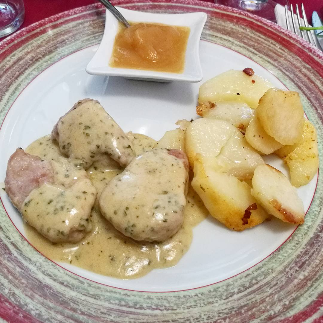 Filetto in salsa senape e patate