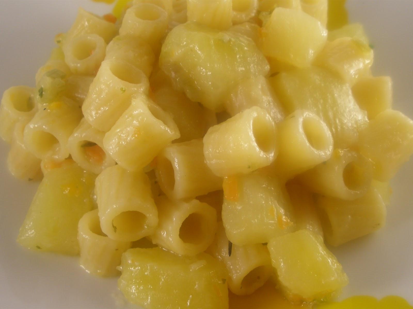 Pasta risottata con le patate