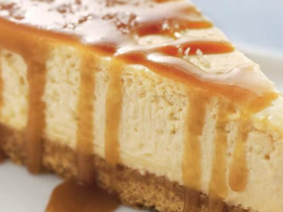 Cheesecake al caramello con il Cookeo