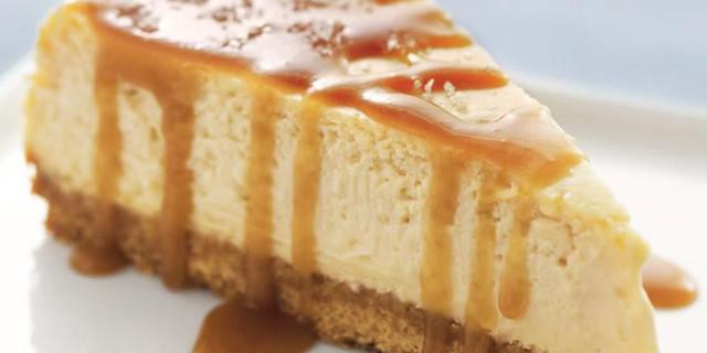 Cheesecake al caramello con il Cookeo