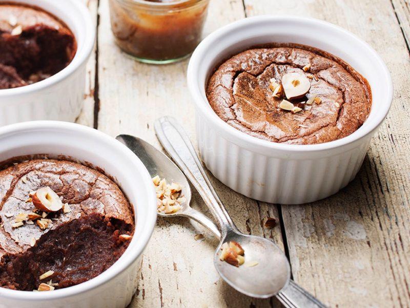 Fondant cioccolato e castagne