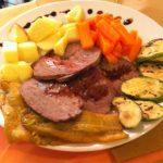 Arrosto di vitello con verdure con il Cookeo