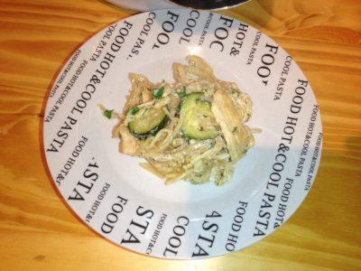 Pasta zucchine e pollo con il Cookeo