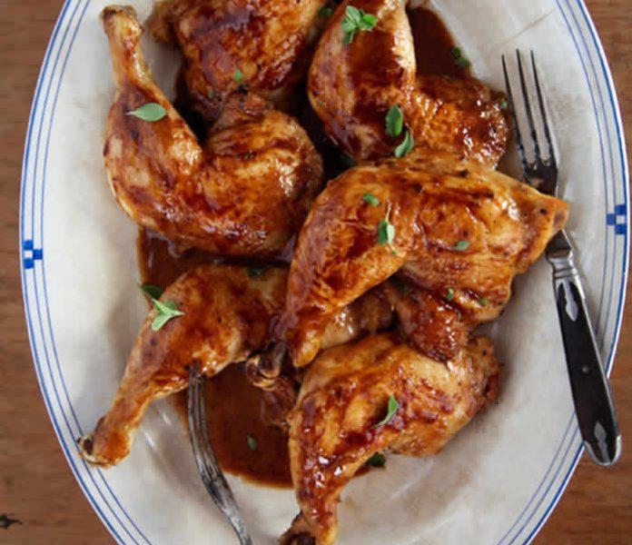 Cosce di pollo al vino con il Cookeo