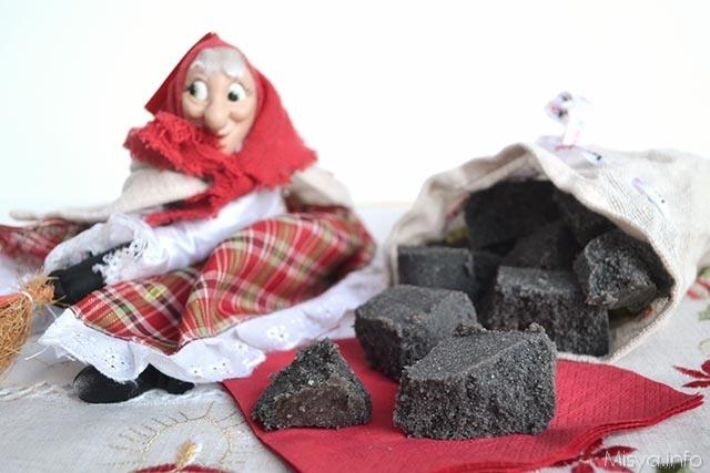 Il carbone dolce della befana