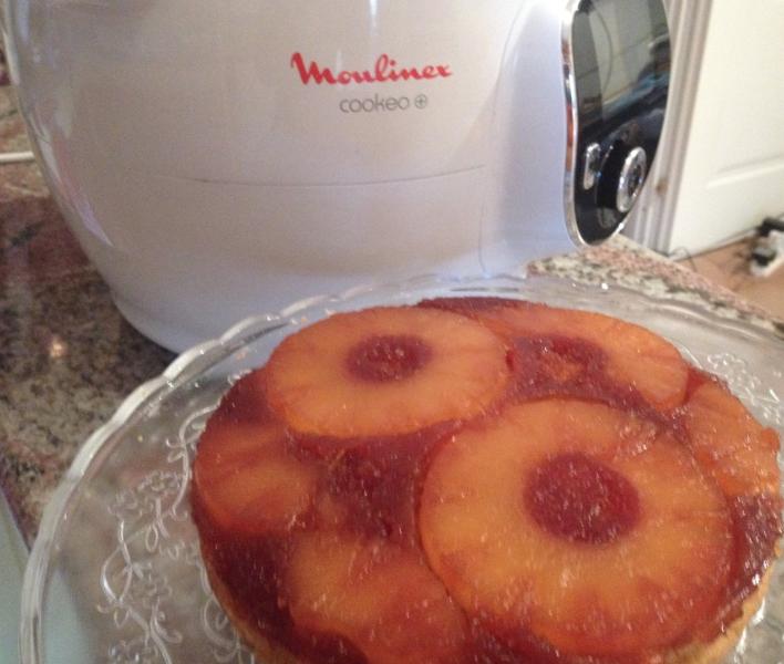 Torta all'ananas rovesciata con il Cookeo