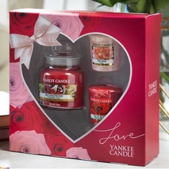 Una yankee candle .. per San Valentino