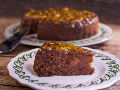 Torta cioccolato e marmellata di Nigella