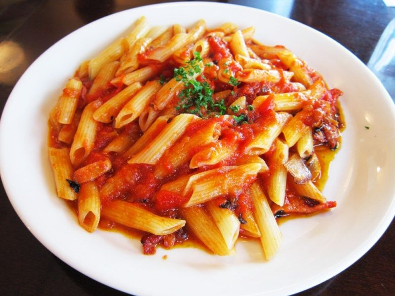 Pasta all'arrabbiata con il cookeo
