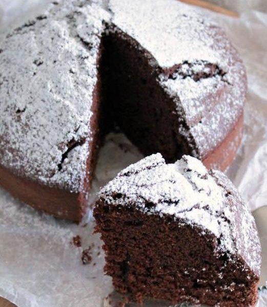 Torta margherita al cacao con il cookeo