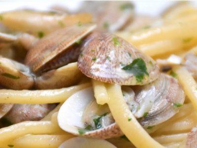 Spaghetti con le vongole con il cookeo