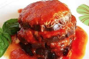 Torrette di parmigiana di melanzane