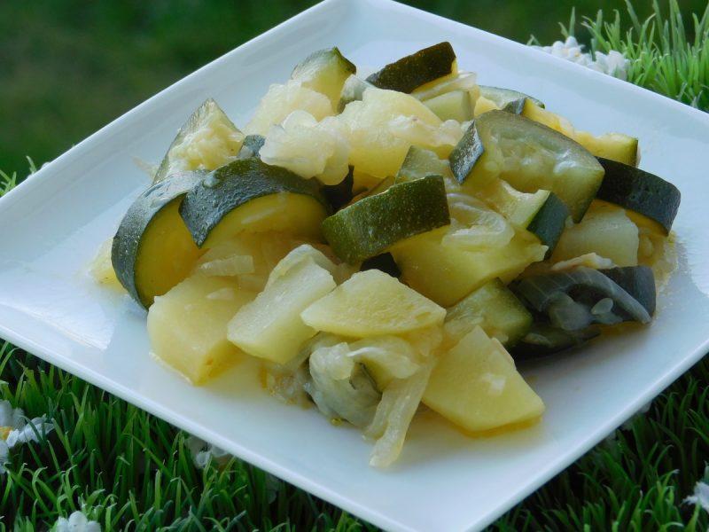 Zucchine e patate con il cookeo