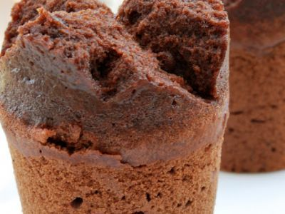 Sformatini al cacao con il cookeo