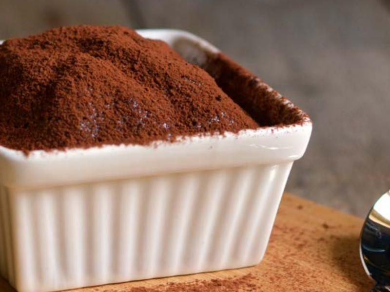 Tortino al cacao