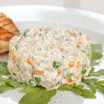 Insalata Russa con tonno e uova con il Cookeo