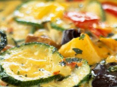 Tortino di melanzane e zucchine