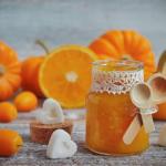 Confettura di zucca e arancia
